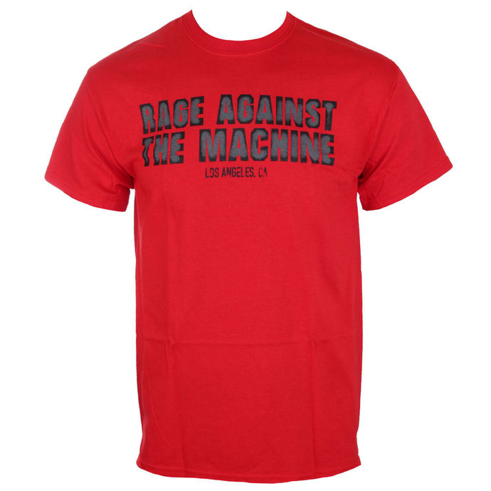 Herren T-Shirt Rage Against The Machine - Smashed Red - ATMOSPHERE