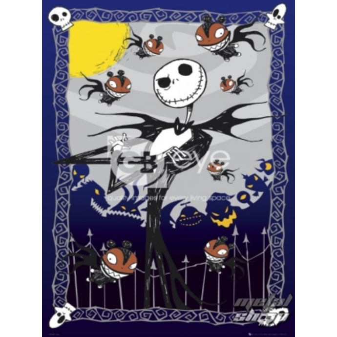 Poster - NIGHTMARE BEFORE CHRISTMAS  - Glow - FP2155