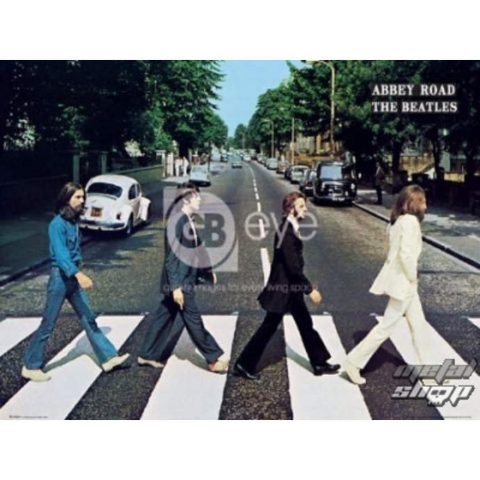 Poster - The Beatles - Abbey Road - LP0597