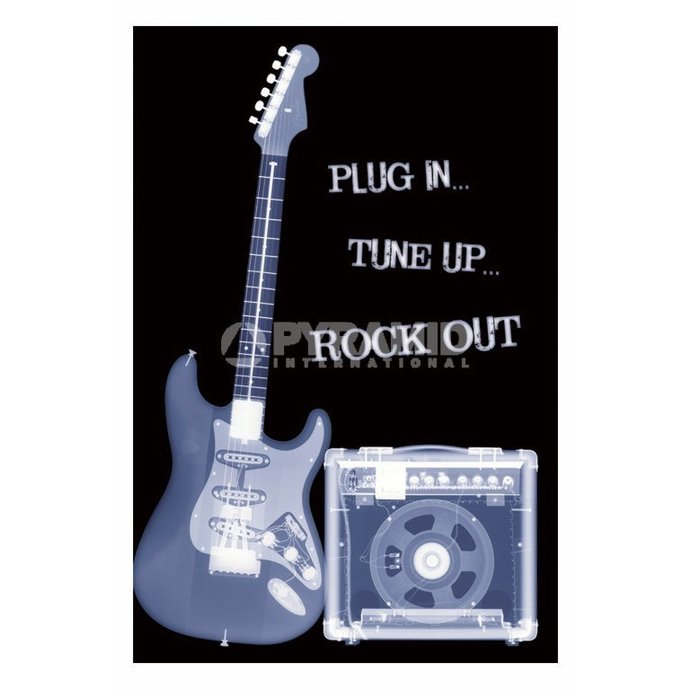 Poster Plug In ... Tune Up ... Rock Out - PP31159