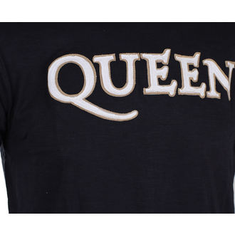 Herren T-Shirt Metal Queen - Logo & Crest - ROCK OFF