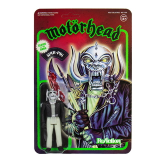 Figur Motörhead - Warpig Glow in the Dark, NNM, Motörhead