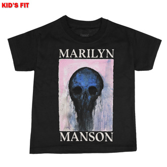 Kinder T-shirt Marilyn Manson - Halloween Painted Hollywood, ROCK OFF, Marilyn Manson