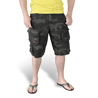 Herren Shorts   SURPLUS - Trooper - Black Camo - 07-5600-42