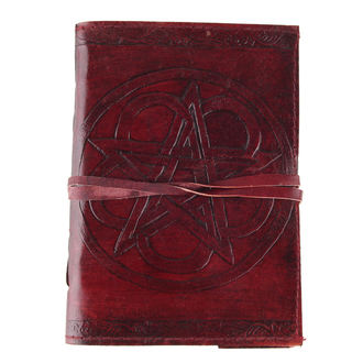 Notizblock Pentagram Leather Embossed Journal - D1019C4