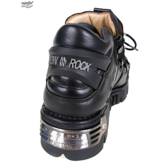 Punk Boots NEW ROCK Prick Shoes (110-S1) schwarz