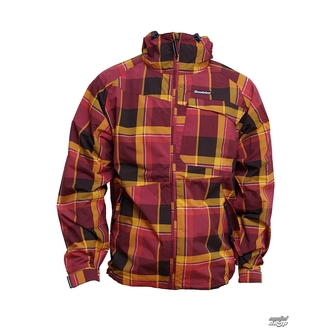 Herren Jacke Frühling-Herbst HORSEFEATHERS - Linear - Ruby CHECK