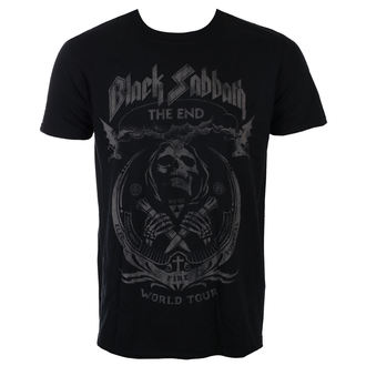Herren T-Shirt Metal Black Sabbath - The End Mushroom Cloud - ROCK OFF, ROCK OFF, Black Sabbath