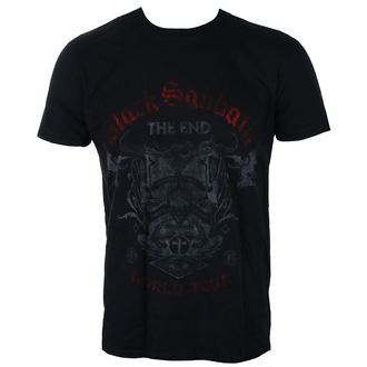 Herren T-Shirt Metal Black Sabbath - The End Reading Skull - ROCK OFF, ROCK OFF, Black Sabbath