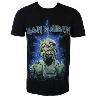 Herren T-Shirt Metal Iron Maiden - Powerslave Mummy - ROCK OFF, ROCK OFF, Iron Maiden