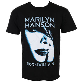 Herren T-Shirt Metal Marilyn Manson - Born Villain - ROCK OFF, ROCK OFF, Marilyn Manson