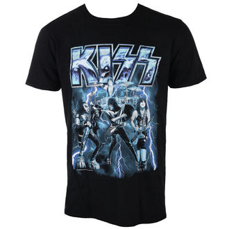 Herren T-Shirt Metal Kiss - LIGHTNING - LIVE NATION, LIVE NATION, Kiss