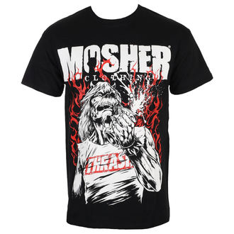 Herren T-Shirt Metal - Pete Flamin' Anger - MOSHER, MOSHER