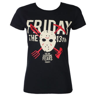 Damen T-Shirt Film Friday 13th - DAY OF FEAR - PLASTIC HEAD, PLASTIC HEAD, Friday the 13th