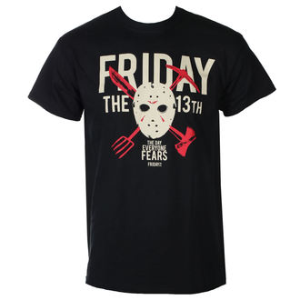 Herren T-Shirt Film Friday 13th - DAY OF FEAR - PLASTIC HEAD, PLASTIC HEAD, Friday the 13th
