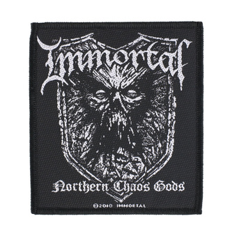 Patch Aufnäher Immortal - Northern Chaos Gods - RAZAMATAZ, RAZAMATAZ, Immortal