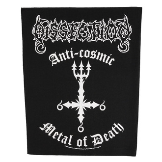 Rückenaufnäher Patch groß Dissection - Anti Cosmic Metal Of Death - RAZAMATAZ, RAZAMATAZ, Dissection