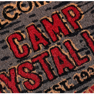 Fußmatte Friday the 13th - Doormat Welcome To Camp, NNM, Friday the 13th