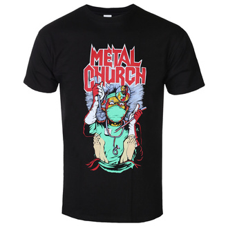 Herren T-Shirt Metal Metal Church - FAKE HEALER - PLASTIC HEAD, PLASTIC HEAD, Metal Church