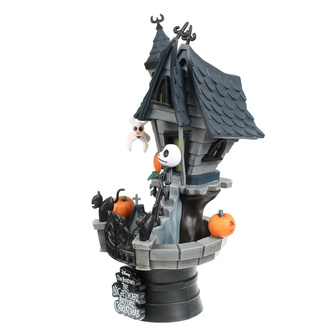 Figur Nightmare Before Christmas - Jack's Haunted House, NNM, Nightmare Before Christmas