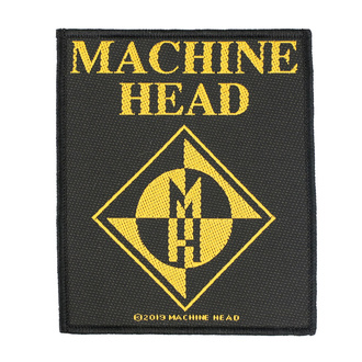Patch Aufnäher Machine Head - Diamond Logo - RAZAMATAZ, RAZAMATAZ, Machine Head