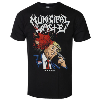 Herren T-Shirt Metal Municipal Waste - Trump- black - ART WORX, ART WORX, Municipal Waste