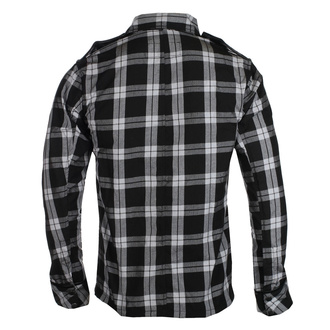 Herren Hemd Chemical Black - EZRA - WHITE CHECK, CHEMICAL BLACK