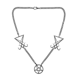 Halsband Luciferi, Leather & Steel Fashion