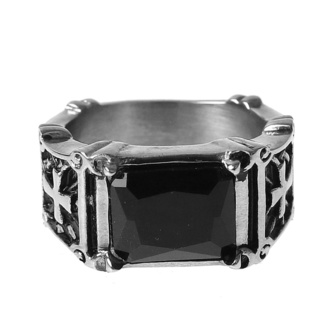 Ring ETNOX - black zirconia, ETNOX
