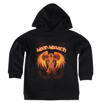 Kapuzenpullover für Kinder Amon Amarth - Burning Eagle - Metal-Kids