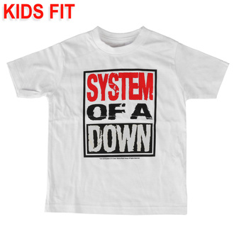 T-shirt für Kinder System of a Down - Logo, Metal-Kids, System of a Down