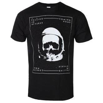 Herren T-shirt Falling In Reverse - Skelmet - Schwarz, KINGS ROAD, Falling In Reverse