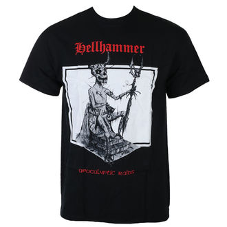 Herren T-Shirt Metal Hellhammer - RED LOGO APOCALYPTIC RAIDS - Just Say Rock, Just Say Rock, Hellhammer
