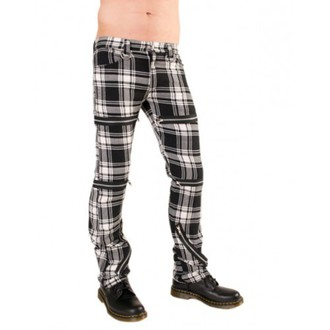 Hose Damen Black Pistol - Destroy Pants Tartan (Black/White) - B-1-20-060-01