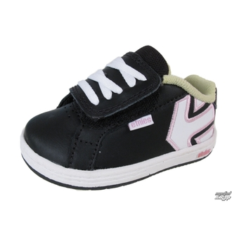 Kinderschuhe ETNIES - Toddler Fader - BLACK/WHITE/PINK