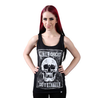 Damen Tanktop METAL CHICKS DO IT BETTER, METAL CHICKS DO IT BETTER