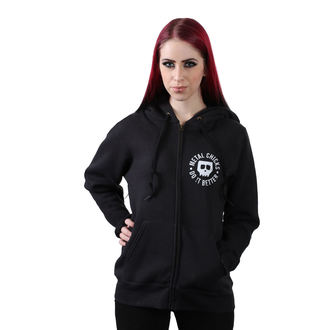 Damen Hoodie METAL CHICKS DO IT BETTER - Pentagramm, METAL CHICKS DO IT BETTER