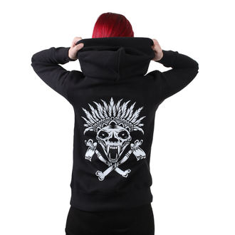 Damen Hoodie METAL CHICKS DO IT BETTER - Indian, METAL CHICKS DO IT BETTER