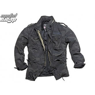 Herren Jacke SURPLUS - RegiMent M65 - BLACK CAMO - 20-2501-42