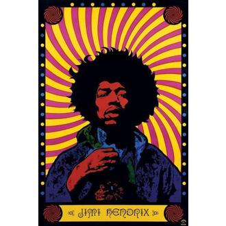 Posters Jimi Hendrix (Psychedelic) - PP30356 - Pyramid Posters