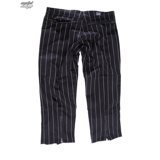 Slacks Damen 3/4 Mode Wichtig - Zip Slacks Pin Stripe - M-1-70-050-01