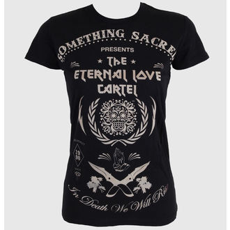 Damen T-Shirt SOMETHING SACRED - Deathless Love, SOMETHING SACRED