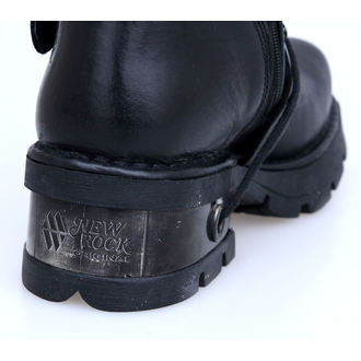 Punk Boots NEW ROCK Classic Boots (373-S1) schwarz