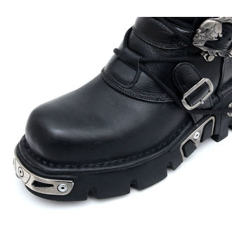 Punk Boots NEW ROCK - 5-Buckle Boots (402-S1) schwarz