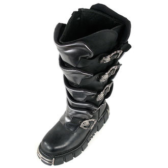 Schuhe NEW ROCK - Gladiator Boots (738-S1) Black-Grey