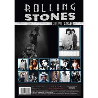 Wandkalender 2018 ROLLING STONES, Rolling Stones