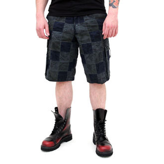 Männer Shorts SURPLUS - Checkboard - BLUE - 05-5650-10