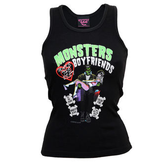 Damen Tank Top  KREEPSVILLE SIX SIX SIX - Monster Boyfriends Glitter Beater č.23
