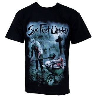 Herren T-Shirt Six Feet Under - Dead Meat - RAZAMATAZ