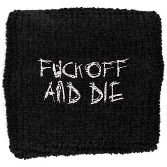 Schweißarmband Darkthrone - Fuck Off and Die - RAZAMATAZ